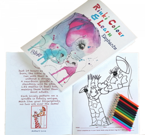 Eli-Giraffe pencils Book